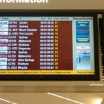 Digital Signage At Adelaide Airport