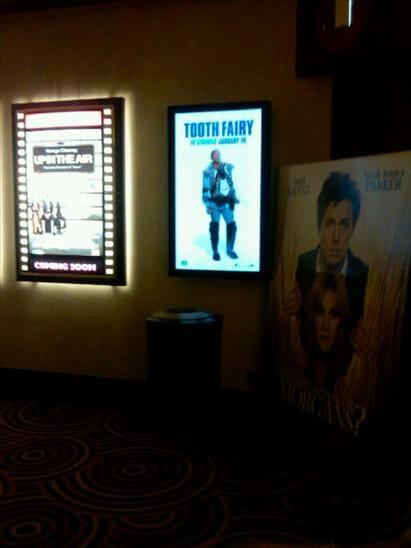 Reading Cinema Digital Signage