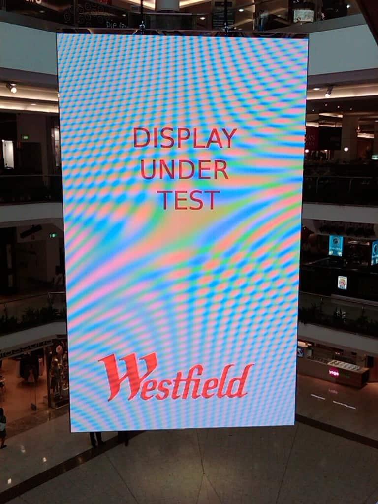 Parramatta LED Screen Test