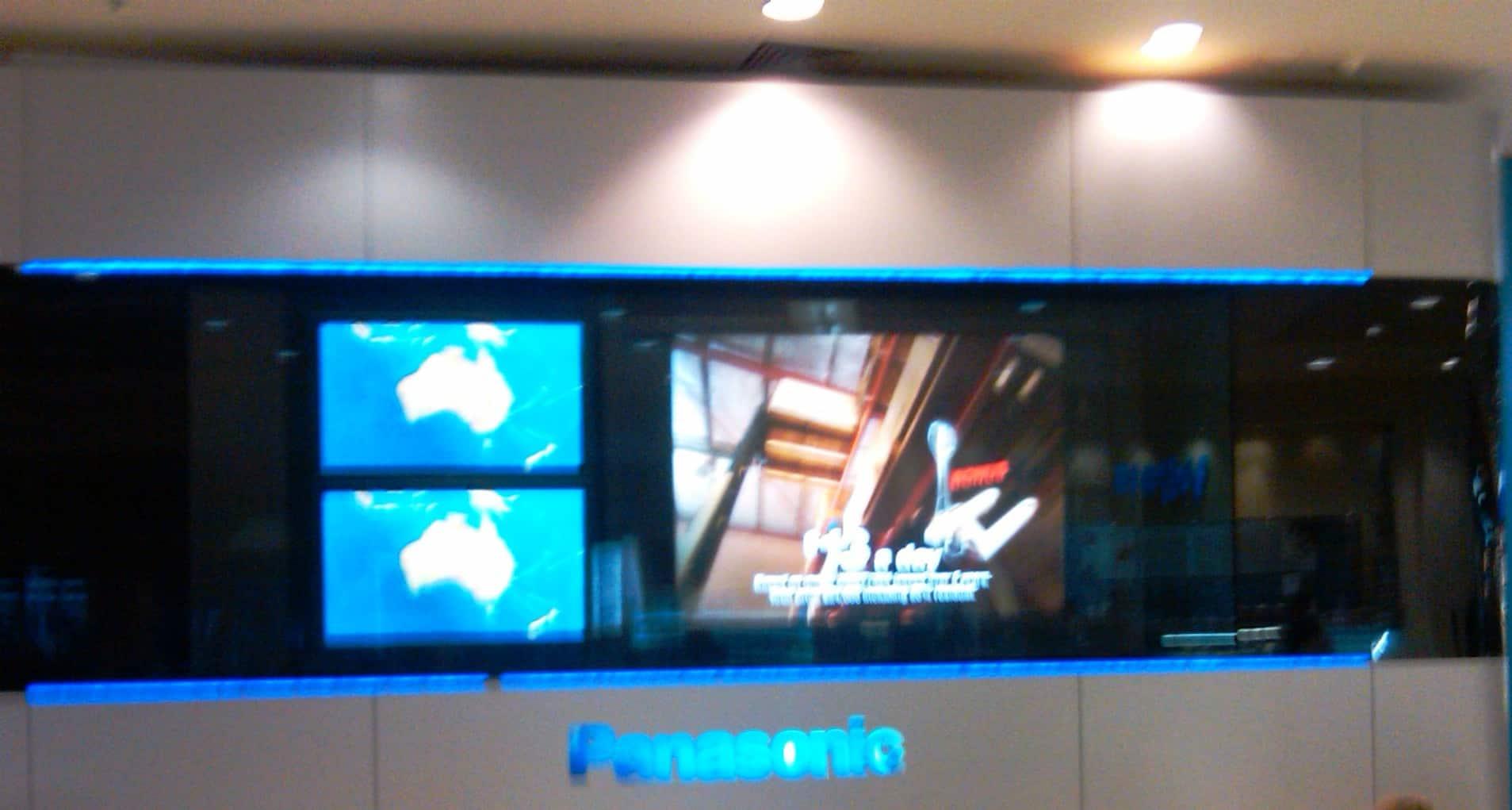 Panasonic Screen Sydney Airport