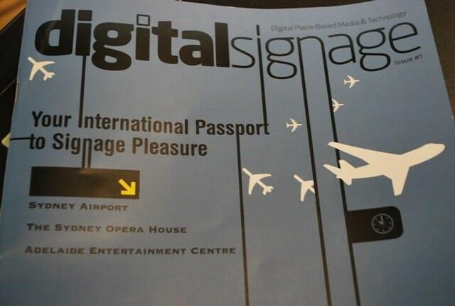 digital signage magazine