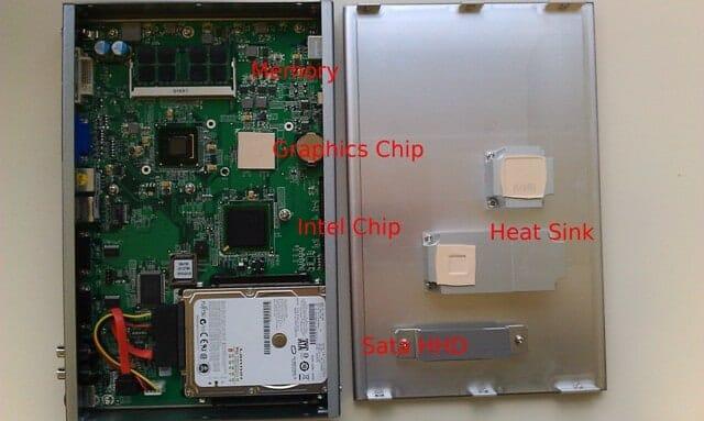 Digital Signage Player Inside