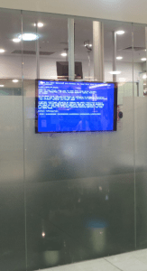 another blue screen