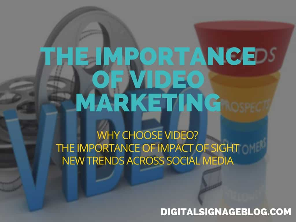 The Importance of Video Marketing Header