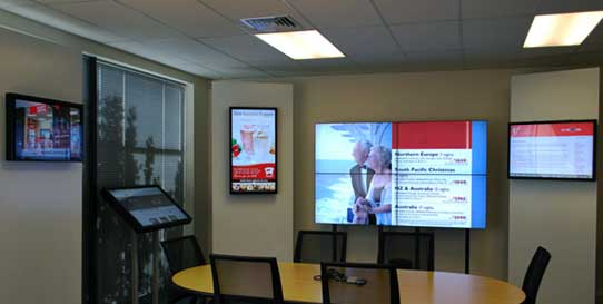 Digital Signage at Conference Rooms in Schools