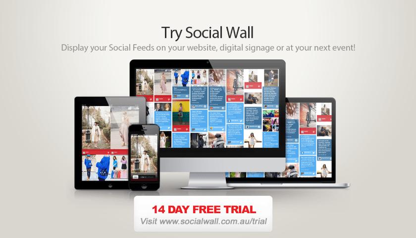 Social Wall Advertisement