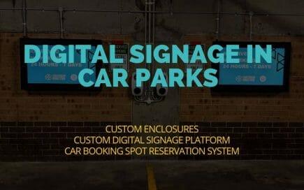 Digital Signage Blog - Digital Signage Solution Car-park module City Canterbury Bankstown Council. header